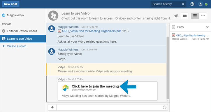 VidyoConnect for HipChat is Here